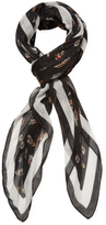 "The Kooples Feather Long Scarf, 84"" x 48"""
