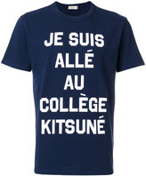 MAISON KITSUNÉ Je Suis Alle T-shirt - men - Cotton - S