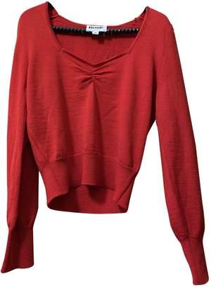Rouje Fall Winter 2019 Red Wool Knitwear