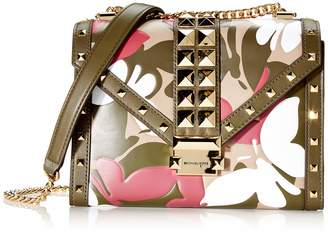 Michael Kors Whitney Large Butterfly Camo Conv Shoulder Bag Women's Shoulder Bag