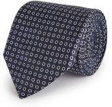 Reiss Kym - Silk Dot Tie in Blue, Mens