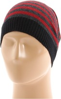 Michael Stars Skinny Stripe Hat (Garnet) - Hats