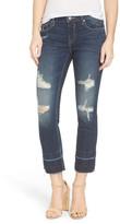 Vigoss Chelsea Destroyed Slim Crop Jeans
