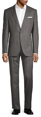 HUGO BOSS Slim-Fit Lanificio Carlo Barbera Hutson Suit