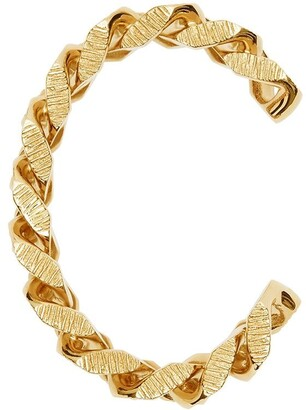 Burberry Chain Link Textured Cuff