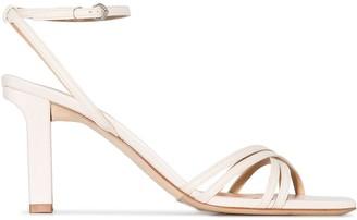 AEYDĒ Annabella 75mm sandals