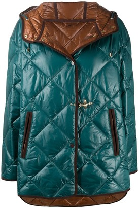Fay Hooded Quilted Jacket