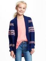 Old Navy Textured Open-Front Cardi for Girls