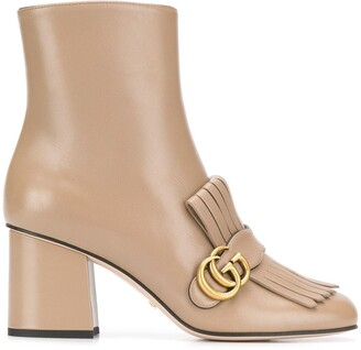 Gucci Marmont 75 boots