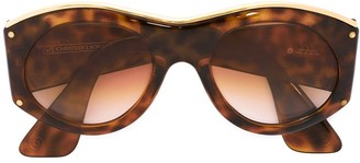 Christian Lacroix Pre-Owned Oval Sunglasses