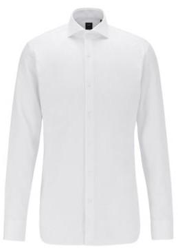 BOSS Slim-fit shirt in Italian Oxford cotton