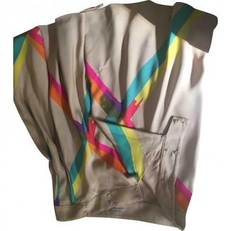 Bottega Veneta Beige Silk Skirt for Women
