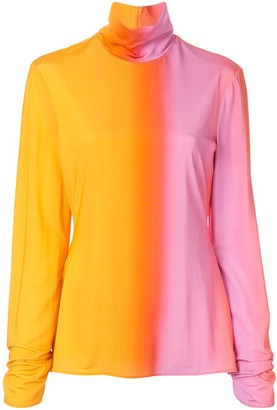 Ellery Tie-Dye Long-Sleeve Top