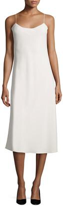 The Row Gibbons Sleeveless Bias-Cut Dress