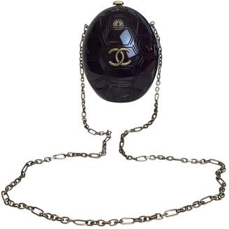 Chanel Purple Plastic Handbags