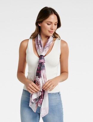 Ever New Simone Floral Print Scarf