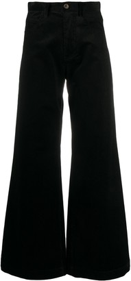 Societe Anonyme High Rise Flared Trousers