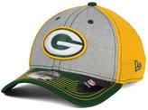 New Era Green Bay Packers Heathered Neo 39THIRTY Cap