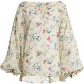 Mes Demoiselles Ashton floral-print cotton top