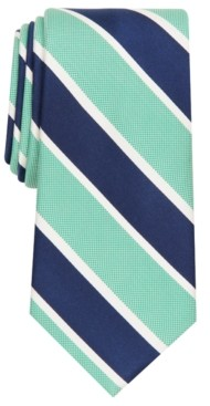 Club Room Men's Brewer Classic Stripe Tie, Created for Macy's