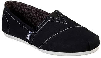 Skechers Bobs Womens Plush-Peace And Love Slip-On Shoe Closed Toe