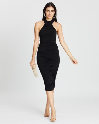 Nookie Rosie Midi Dress