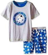 Hatley Boy's Astronauts In Space Tee & Shorts Set