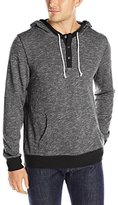 Threads 4 Thought Men's Terry Pullover Henley Hoodie