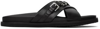 Ralph Lauren Purple Label Black Martez Sandals