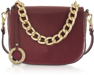 Roccobarocco Paella Shiny Eco-Leather Shoulder Bag