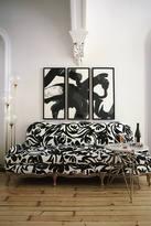 Anthropologie Foliage-Printed Claribel Sofa
