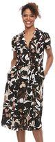Dana Buchman Women's Pintuck Shirtdress