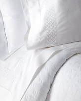 Home Treasures Queen 300TC White Sateen Fitted Sheet