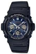 Black 'g-shock' Watch Awg-m100sb-2aer