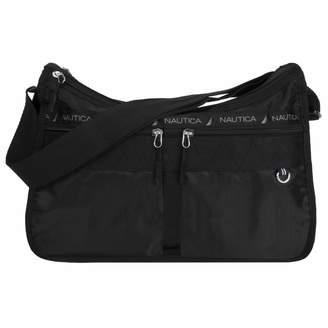 Nautica Women's Captain's Quarters Hobo Bag - Black Tote Bag One Size