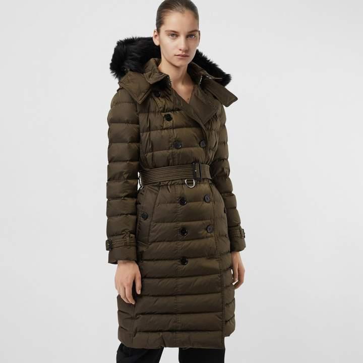 Burberry Detachable Hood Down-filled Puffer Coat