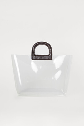 H&M Transparent Shopper - White