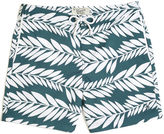 Original Penguin Palm Print Swim Volley