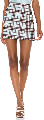Alice + Olivia Semira Pleated Mini Skirt