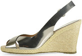 Andre Assous Milan - Mirror Slingback Espadrille in Pewter