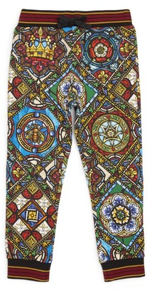Dolce & Gabbana Kids Cotton Sweatpants (2-6 Years)