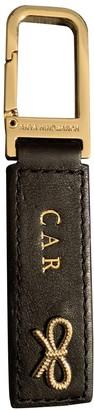 Anya Hindmarch Black Leather Bag charms