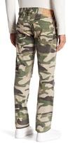 True Religion Camo Skinny Moto Jeans