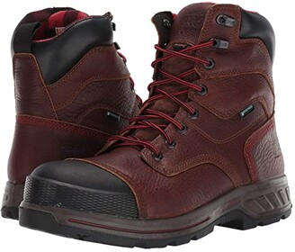 Timberland 8 Endurance HD Composite Safety Toe Waterproof Insulated (Brown) Men's Shoes