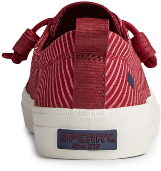 Sperry Crest Vibe Railroad Stripe Sneaker