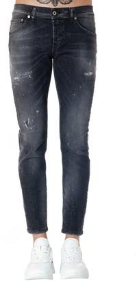 Dondup Black Mius Cotton Jeans