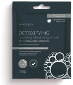 BeautyPRO DETOXIFYING Foaming Cleansing Mask with Activated Charcoal 18ml