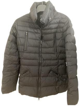 Benetton Black Synthetic Coats