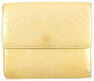 Louis Vuitton Beige Patent leather Wallets