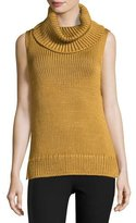 Rag & Bone Adele Sleeveless Ribbed Top, Gold